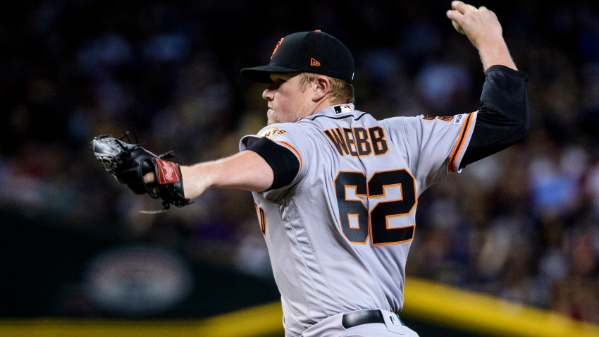 [CSNBY] Giants' top prospect Logan Webb throws five strong innings in MLB debut
