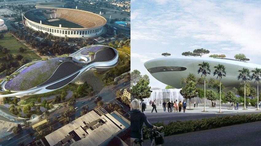 lucas museum exposition park renderings