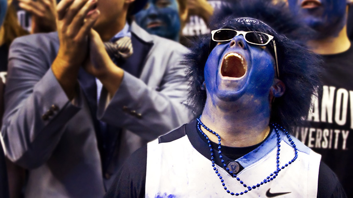 NCAA Basketball 2012: Marquette vs Villanova JAN 28