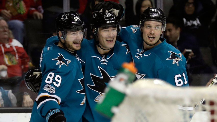 [CSNBY] One goal away from 500, Marleau surging at right time for Sharks
