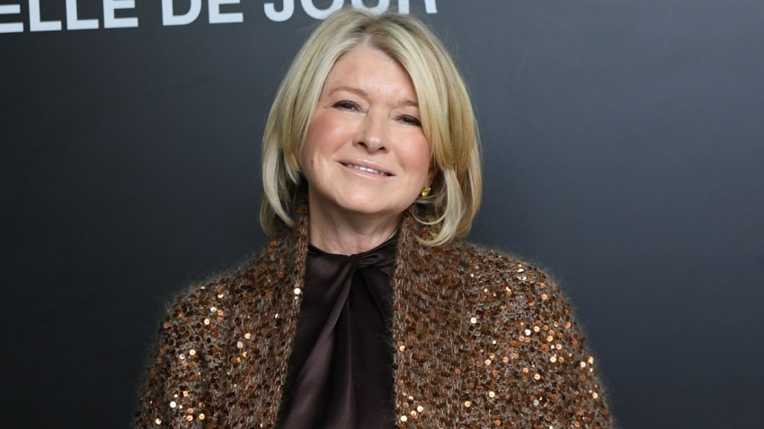 "In this Dec. 19, 2018, file photo, Martha Stewart attends the Saint Laurent Presents ""Belle De Jour"" 50th Anniversary Screening at Museum of Modern Art in New York City."