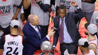 [CSNBY] Raptors' Masai Ujiri makes two bold proclamations before NBA Finals