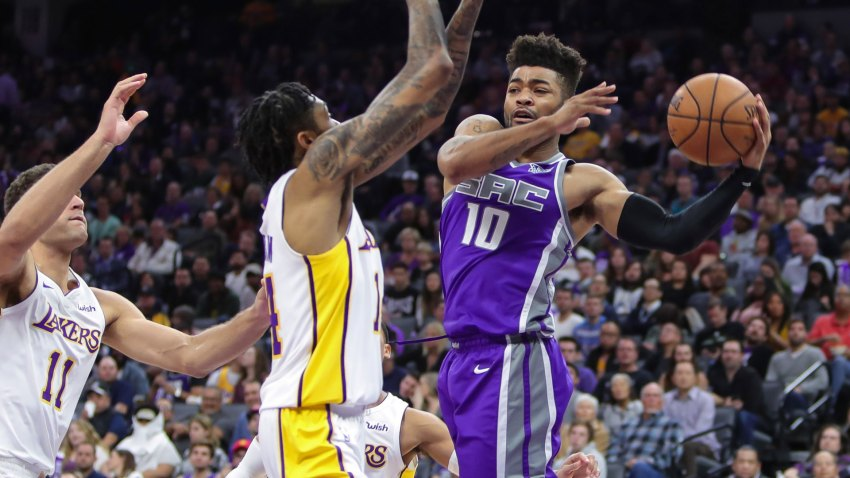 [CSNBY] Kings' second unit steals show from Fox-Ball, fuels victory over Lakers