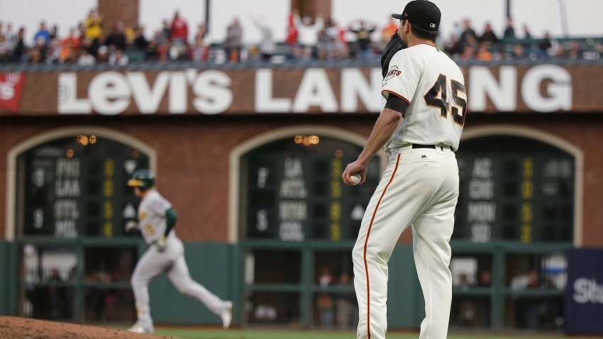 [CSNBY] Instant Analysis: Five takeaways from Giants' 6-1 loss to A's