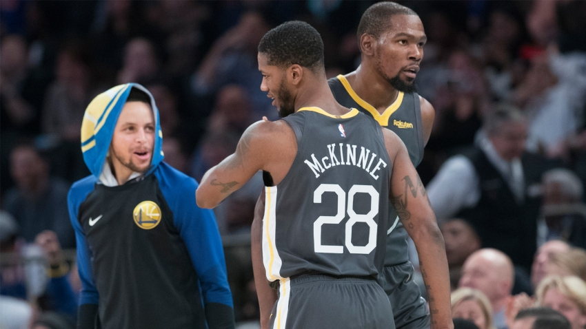 [CSNBY] Alfonzo McKinnie's contract with Warriors now guaranteed for season