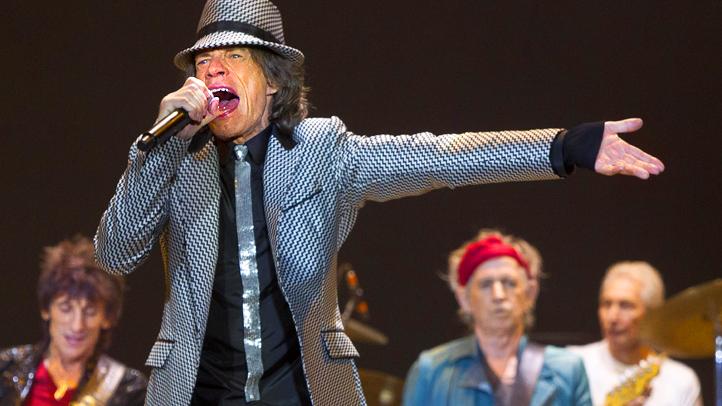 APTOPIX Rolling Stones London