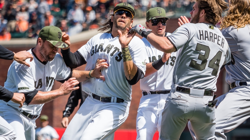 [CSNBY] Day after brawl, Morse placed on concussion DL by Giants