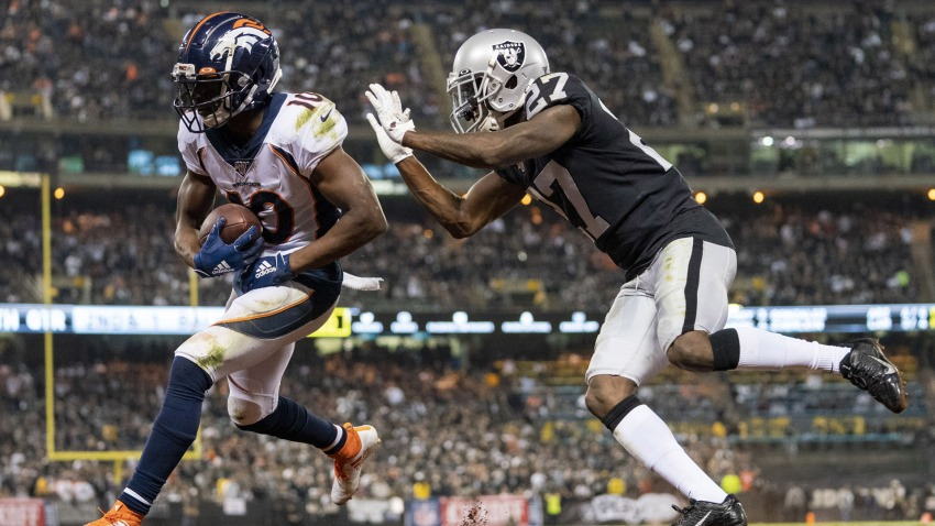[CSNBY] Raiders rookie Trayvon Mullen will learn from NFL debut vs. Broncos