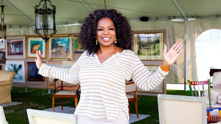 oprah yard sale