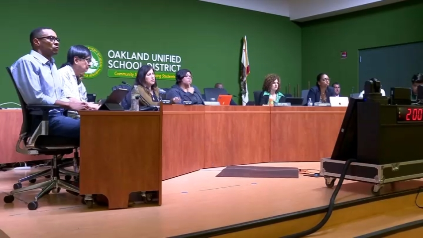 The Oakland Unified School District Board of Trustees.