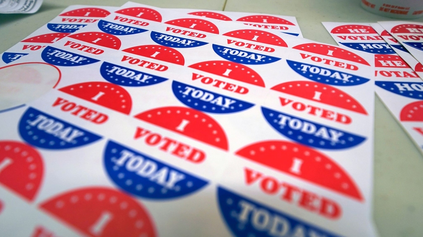 PA midterm elections - stickers generic