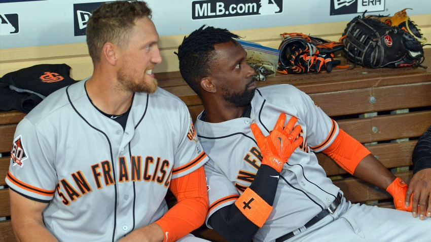 [CSNBY] Andrew McCutchen talks first season with Giants, free agency mindset