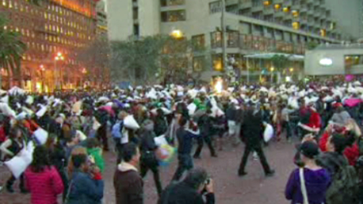 Great American Pillow Fight