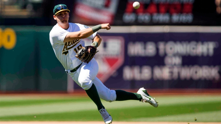 [CSNBY] A's rookie after homering twice: 'No words' for Lowrie's 'invaluable' advice