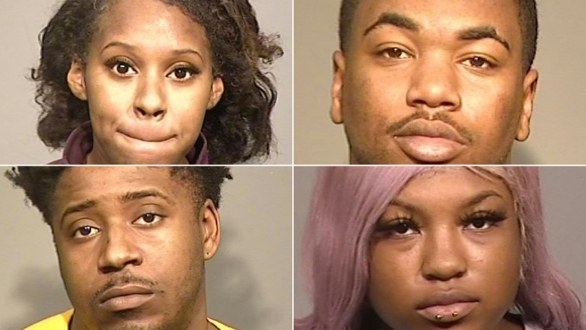 4 Arrested After Returning Alleged Stolen Items for Gift Cards