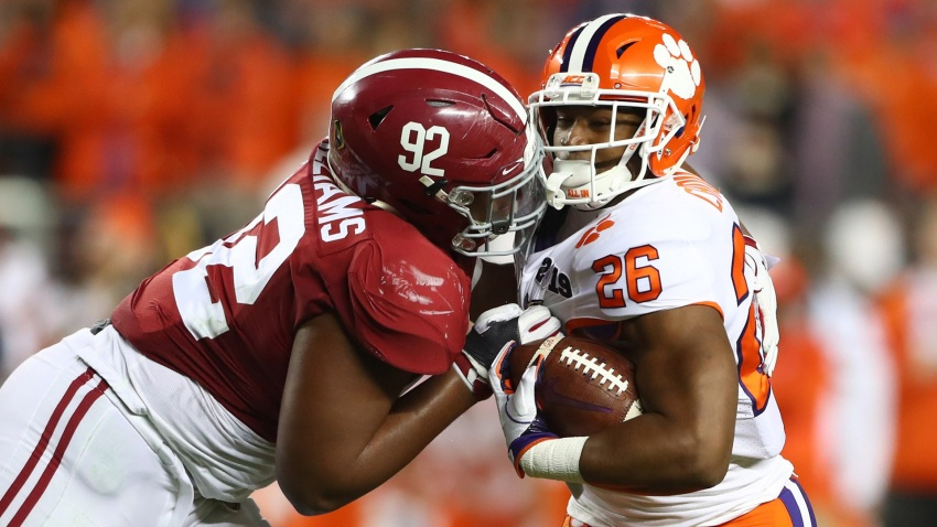 [CSNBY] Quinnen Williams, possible Raiders draft target, misses mark in Alabama's loss