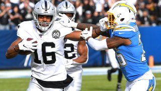 Wide receiver Tyrell Williams of the Raiders.
