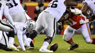 [CSNBY] Self-inflicted wounds kill Raiders' quest to upset Chiefs in AFC West clash