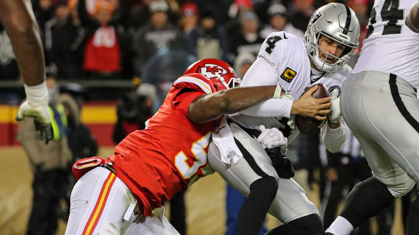 [CSNBY] NFL playoff picture: Where Raiders stand in AFC after loss vs. Chiefs