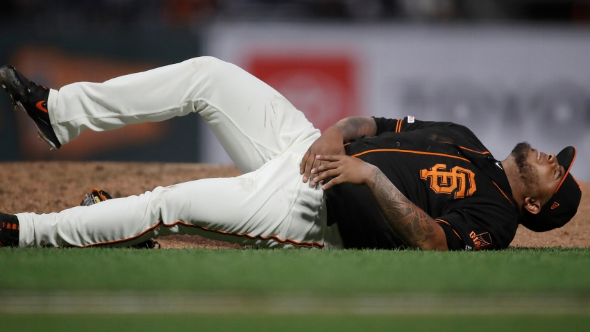 [CSNBY] Giants reliever Reyes Moronta suffers acute right shoulder strain