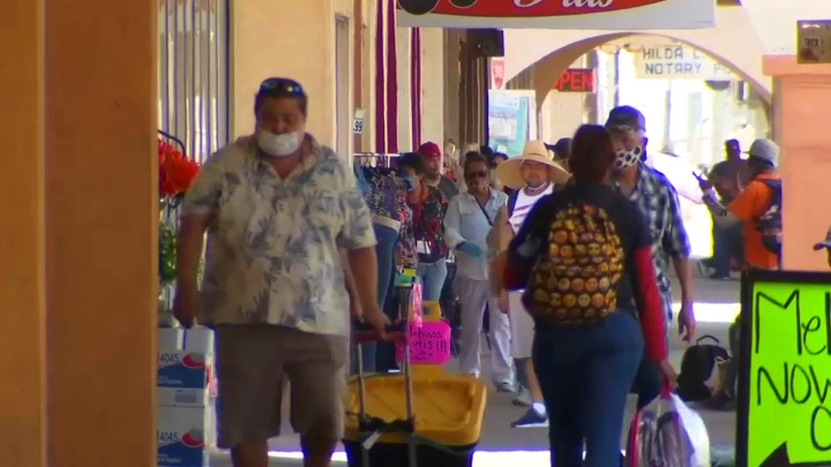 Crowds Flock to Santana Row as Santa Clara County Begs Residents to Stay Home