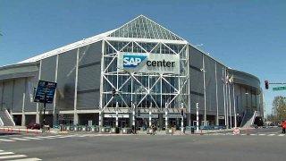 SAP Center in San Jose.