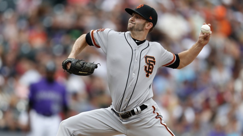 [CSNBY] Giants' Sam Selman details how tryout landed him in San Francisco