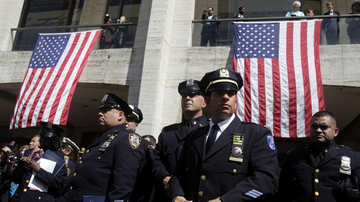 Sept 11 NYPD Ceremony