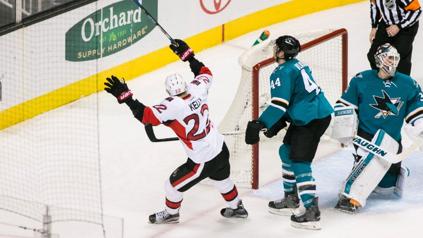 [CSNBY] Rewind: Sharks show no rust from layoff, fall to Sens anyway
