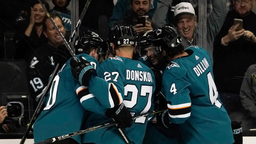 [CSNBY] Sharks skate past Sabres, earn first win of 2017 season