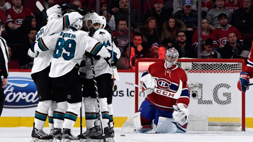 [CSNBY] Rewind: Power play clicks early in Sharks' third straight road win