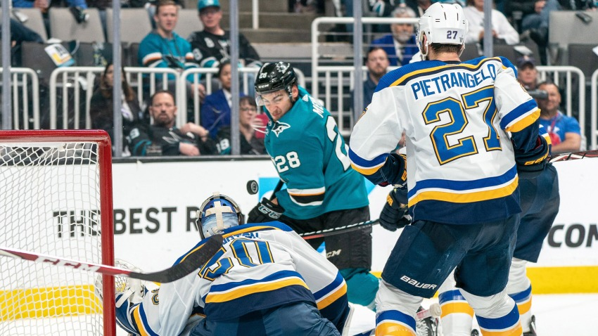 [CSNBY] Sharks vs. Blues Game 3 watch guide: Projected lines and defensive pairs