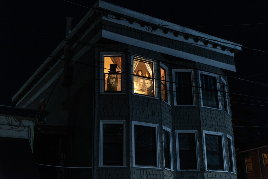 Sheltering at night