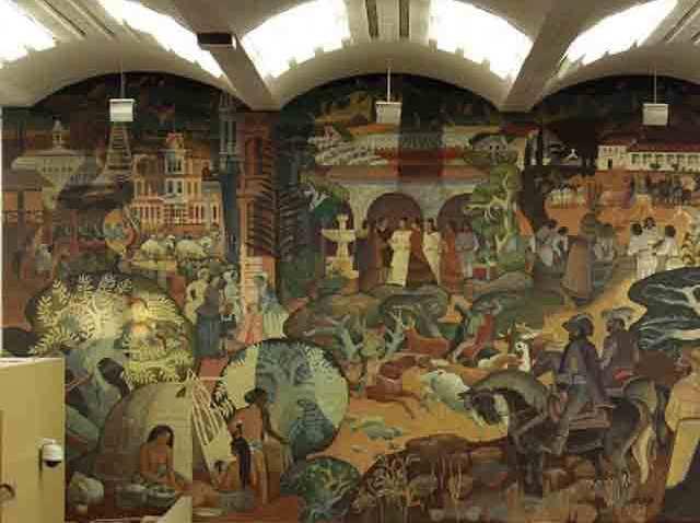 San Jose Airport Mural