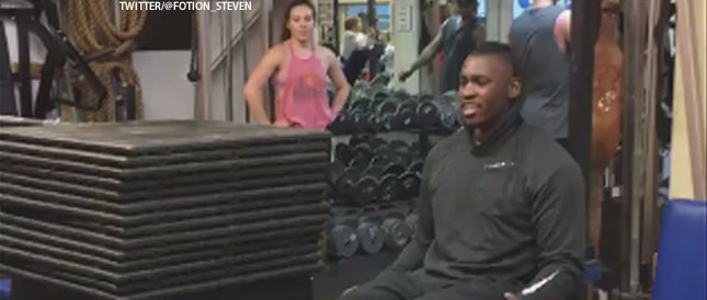 [CSNBY] Aldon Smith shows off athleticism, strength in workout videos
