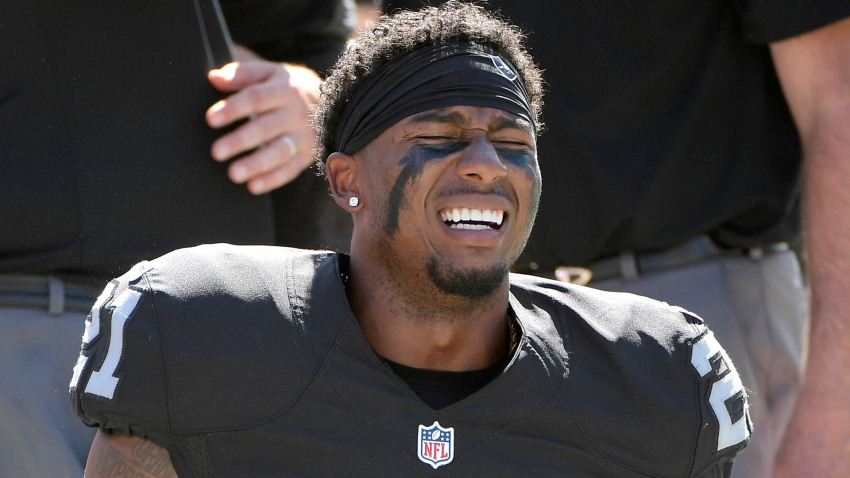 [CSNBY] Inactives: Raiders rule CB Sean Smith out vs Broncos