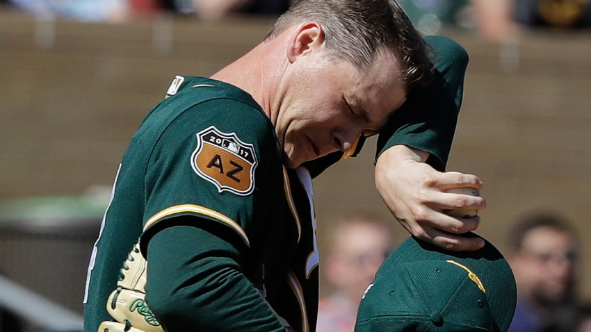 [CSNBY] Gray battered for seven runs, but A's beat D'backs 21-13