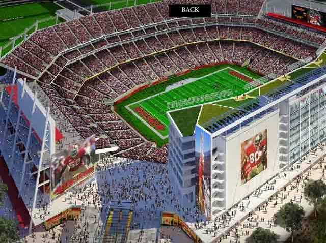 49er Stadium Rendering