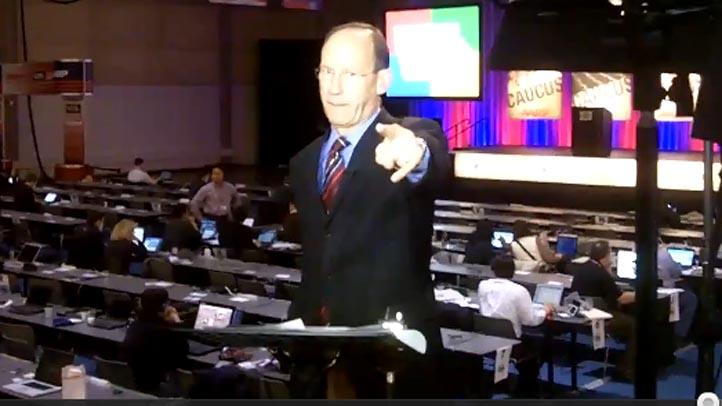 steve handelsman pointing at camera conan nolan