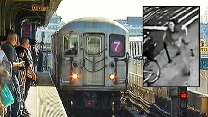 subway push death inset
