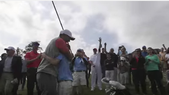 tiger woods hole in one