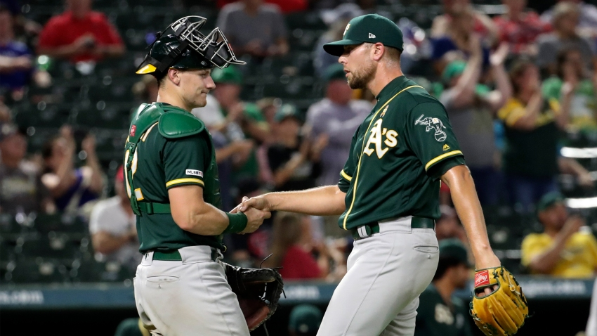 [CSNBY] A's remain in contract talks with Blake Treinen, GM David Forst says
