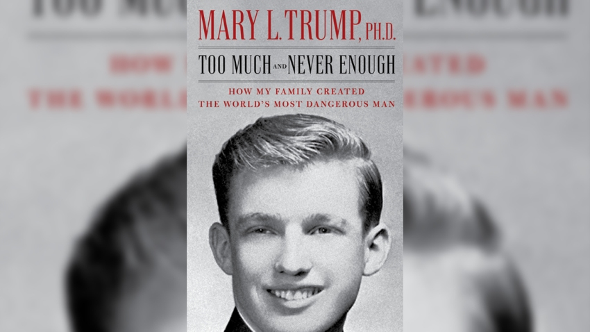 """""""Too Much and Never Enough,"""" a harsh portrait of the current President of the United States painted by his niece Mary Trump, will be put on sale two weeks early, according to the book's publisher."""