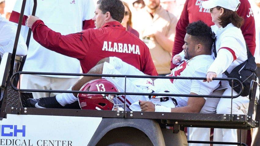 [CSNBY] Raiders' Josh Jacobs 'praying' for Tua Tagovailoa after hip injury