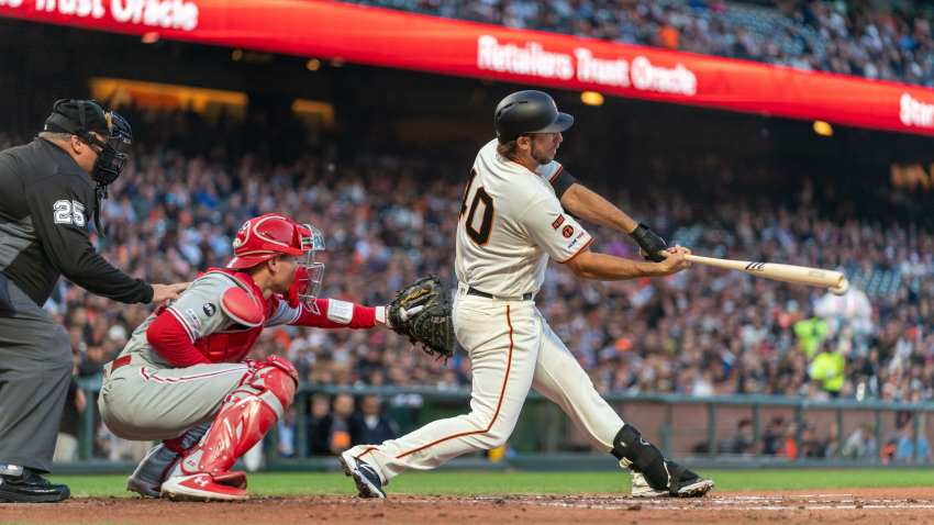 [CSNBY] Bumgarner flirts with no-hitter, settles for win that snaps Giants' skid