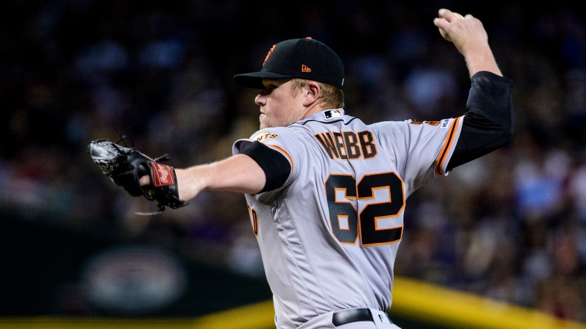 [CSNBY] Top prospect Logan Webb throws five strong innings in big league debut