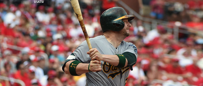 [CSNBY] A's lineup: Vogt back in the squat, hitting second vs Angels