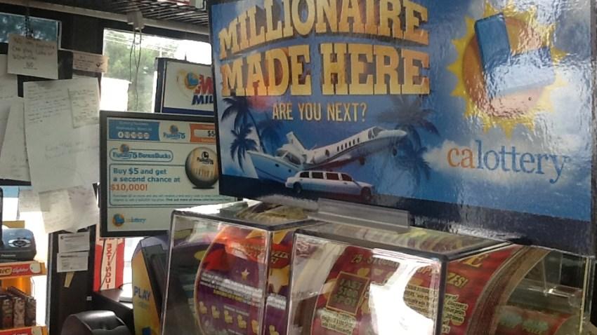 Walnut Creek Lottery Winner Banner