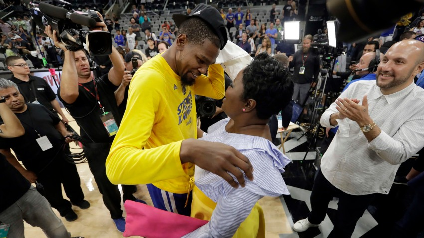 [CSNBY] Kevin Durant's mother sends message to those who questioned his heart