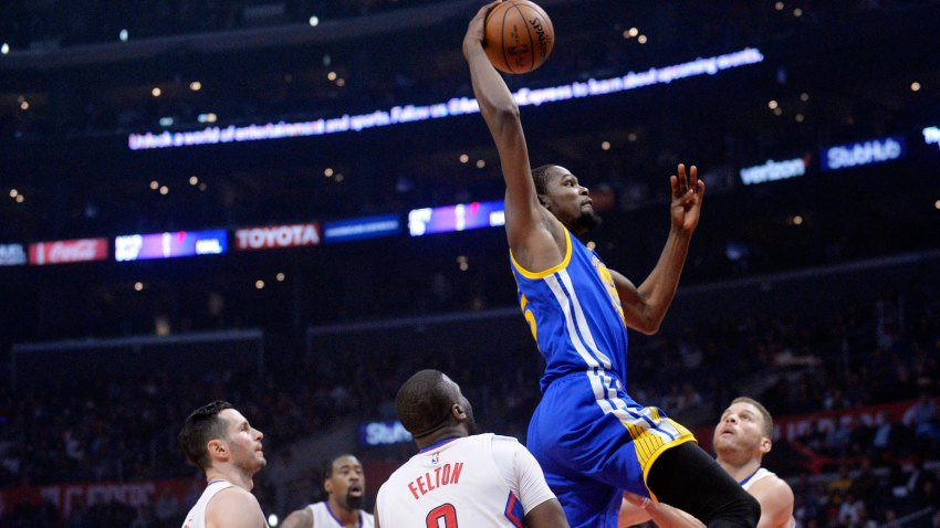 [CSNBY] Warriors win, Durant records double-double in return